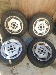 Mk3 Ford Fiesta XR2i Original Alloy Wheels  for Spares, Restoration,