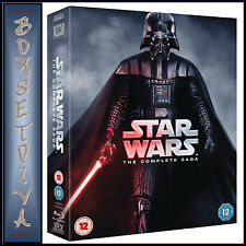STAR WARS - THE COMPLETE SAGA  **BRAND NEW BLU-RAY BOXSET REG B **