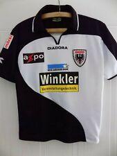 More details for fc aarau home football shirt 2009 2010 diadora jersey maglia top trikot size