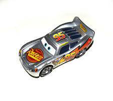 Disney Pixar Cars Diecast Silver Metallic Finish Rust-eze Lightning Mcqueen