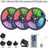 5-15M RGB 3528 LED Strip Lights With IR Remote TV Back Light 12V Colour Changing