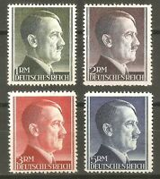 DR Nazi 3rd Reich Rare WW2 Stamp Hitler Head Fuhrer Birthday Swastika Eagle War2