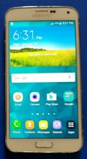 """SAMSUNG GALAXY S5 SM-G900P 5.1"""" 16GB SMARTPHONE PART'S ONLY AS-IS CRACKED LENS"""