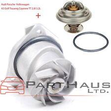 Audi Engine Coolant Hose Flange Housing KM Premium Quality 06B132E