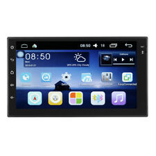 Android 7 Inch 2 Din HD Touch Screen WIFI Bluetooth 4.0 Mirror Link Car Black