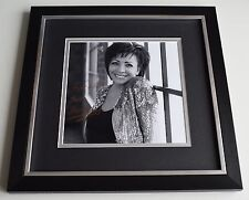 Shirley Bassey SIGNED Framed LARGE Square Photo Autograph display James Bond