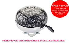Classic Retro Large Loud Round Bicycle Bell Bike Cycle Ding Dong Metal Bell LC