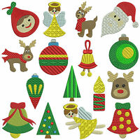 MAGIC CHRISTMAS * Machine Embroidery Patterns * 16 designs