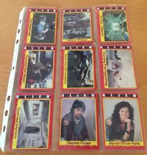 "Vintage Topps 1979 ""Alien"" collector Trading Cards 2 Stickers Almost Complete"