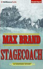 Stagecoach by Max Brand (2016, CD, Unabridged)