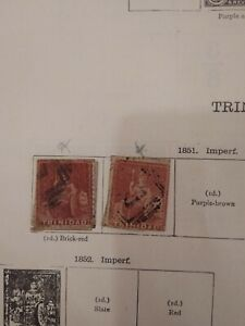 Old Trinidad Collection from Brittanias 1851-1913