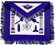 Masonic Regalia Master Mason Working Tools Blue Apron