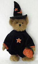 RETIRED Esmeralda Witch VTG Boyds Bears Halloween Plush Jointed Teddy Bear NWT