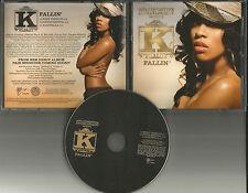 K MICHELLE Kimberly Fallin w/RARE INSTRUMENTAL & ACAPPELLA PROMO DJ CD single