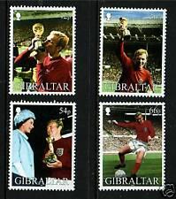 Gibraltar 2002 World Cup Football SG 1006/9 MNH