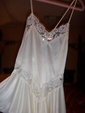 Super Sexy Shortie Nighty In Ivory & Lace- Sweet & Sexy!-Huge Sale!!Free US SHIP