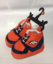 Denver Broncos Sneaker Baby Booties Slippers NEW Infant Shoes Newborn Shower