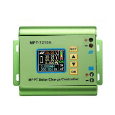 LCD Display MPPT Solar Regulator Charge Controller 24-72V Boost MPT-7210A