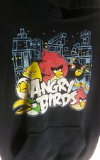 Angry Bird Sweatshirt Hoodie W / Pouch, Youth Unisex Size M