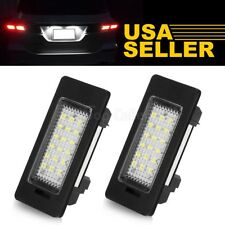 2X Error Free SMD LED License Plate Light For BMW E82 E88 E90 E92 E39 E60 M5 E70