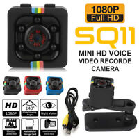 SQ11 Full HD 1080P Mini Car Hidden DV DVR Camera Spy Dash Cam IR Night Vision UK