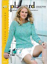Catalogue tricot Plassard Printemps-été 29 modèles Femme et Homme