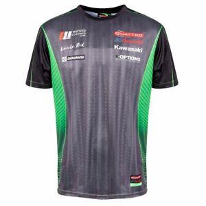 Kawasaki Superbikes Racing Team Print T Shirt NEW  Official Apparel