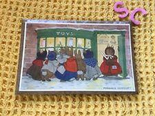 More details for vintage medici society framed margaret tempest little grey rabbit picture