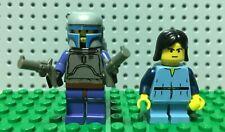Authentic LEGO Star Wars 7153 Original Jango Fett Minifigure Young Boba Retired!