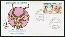 Mayfairstamps Djibouti 1981 Scouts Single First Day Cover wwo96917