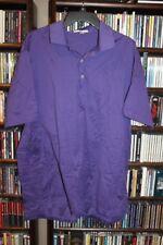Peter Millar Purple Golf Polo Shirt Mens sz XL  (b84)