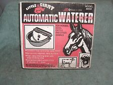 Little Giant Automatic Horse, Cattle  or Dog Waterers Galvanized steel NOS USA
