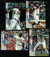 2020 Topps Atlanta BRAVES Team Set Both Series 1 & 2 (27 cards) Acuna Freeman