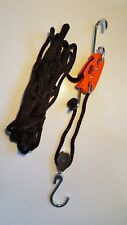 BUCK BOSS 300 lb Hoist System Deer Bear Hog Game Hanging Gutting Pulleys & Rope