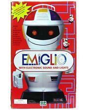 Vintage Emiglio Giochi Preziosi Radio Remote Controlled B/O Droid Robot NM w/Box