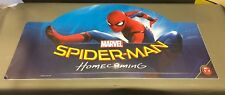 SPIDER-MAN HOMECOMING 2-SIDED TOYS R US Sign Store Display rare 46X24