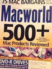 Macworld Magazine 500 Products Reviewed May 2003 121617nonrh