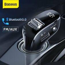 FM Transmitter Bluetooth 5.0 Auto MP3 Player USB Stick KFZ AUX Freisprechanlage