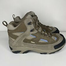 Cabela's Women's Size 8 Brown Gray waterproof Dry Plus Lace up Hiking Boots