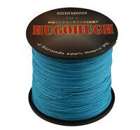 New Blue 100-1000M 6-300LB 100% PE Power Super Strong Fishing Line