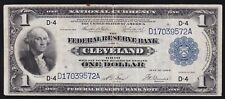 USA ----- 1  DOLLAR  1914 --- SERIES 1918 --- CLEVELAND ---- F/VF -----
