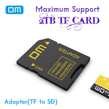 DM Genuine Micro SD to SD Card Adapter Adaptor TF Reader