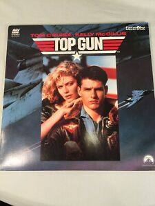 Top Gun (1986) - Laser Disc - Tom Cruise - Excellent Condition!