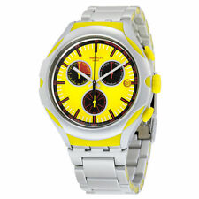 Swatch Stainless Steel Band Men's Analogue Wristwatches