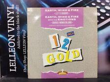 """Earth Wind & Fire Let's Groove Boogie Wonderland 12"""" Single OG4019 Funk 80's"""