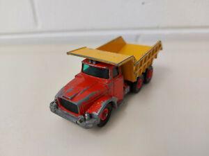 Matchbox King Size - K-19 Scammell Tipper Truck