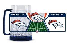 NFL Denver Broncos Duck House Sports 16oz Crystal Freezer Mug