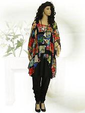 PoCo DeSiGn LAGENLOOK Mesh Tunika Long-Shirt Überwurf L-XL-XXL-XXXL 44-50 52-58