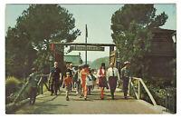 Disneyland Vintage Unused Postcard Entrance to Frontierland Card #1-291 c1970