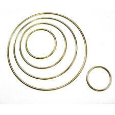 "Metal Dreamcatcher Ring Hoop Brass Plated 6"" - 15.2cm"